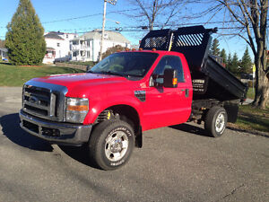 2010 Ford F-250 SUPER DUTY XLT Camionnette 4x4 Benne basculante