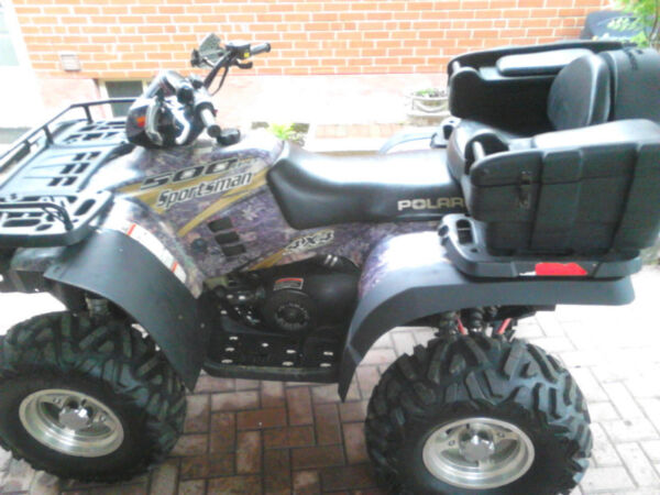 Used 2004 Polaris Sprtsman 500 HO 4x4