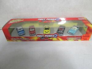 JOHNNY LIGHTNING PONY POWER MUSCLE CARS SET DIE CAST REAL RIDERS