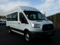 2016 Ford Transit 2.2 TDCi 125ps 460 Long Wheelbase L4 H3 High Roof 17 Seater Mi