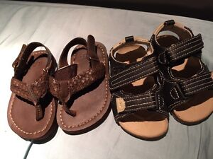 12-18 months sandals from GAP and Joe fresh
