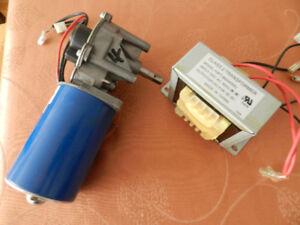 Genie garage door opener motor + transformer for 2022/2024/2042