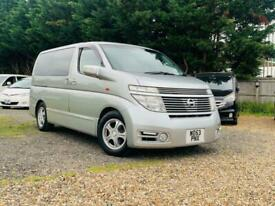 image for NISSAN ELGRAND 3.5 V6 AUTO PETROL HIGHWAY STAR 8 SEATER MPV 53 REG PX TO CLEAR