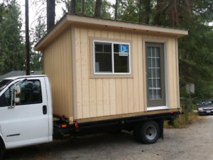 CUSTOM BUILT SHEDS -solid wood construction