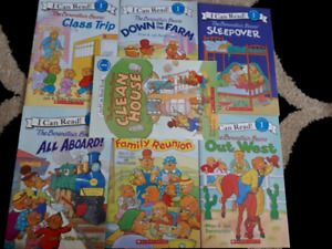 50cts each! Kids Books for Sale! Different levels, like new!!!