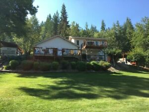 Lakeside house rental on the beautiful Shuswap