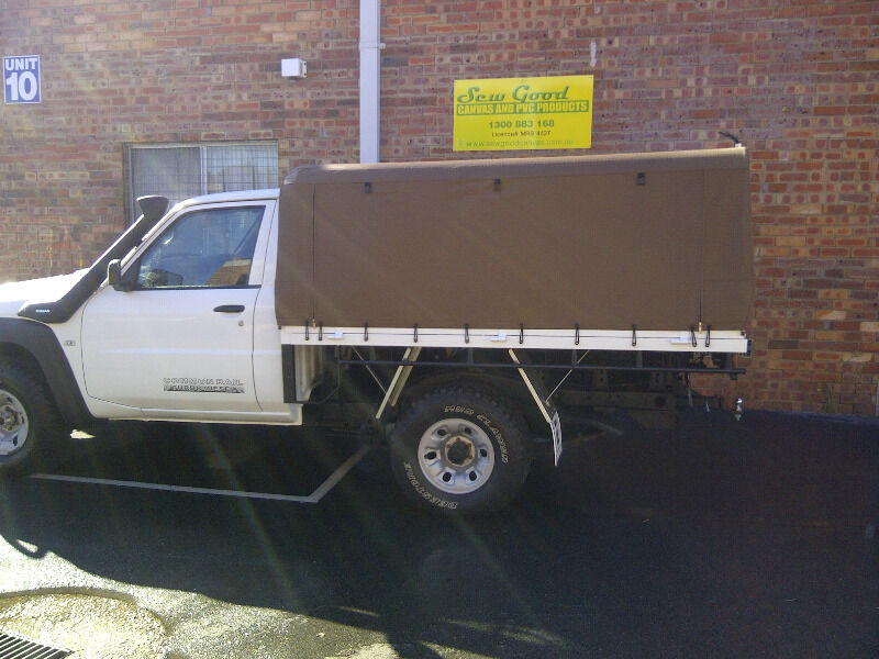 Canvas Ute Canopy Cover And Alloy Frame Package From 2200