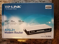 ADSL modems, Wireless routers, & Switch