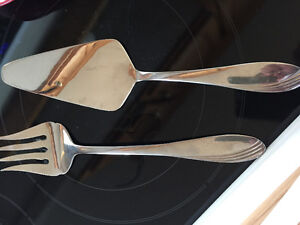 Paderno fork and cake/pie server