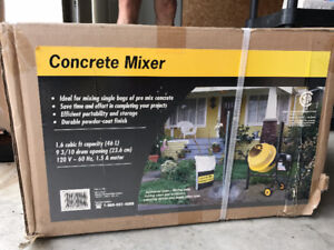 Concrete Mixer - NEW!