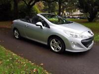 2009 Peugeot 308 CC 2.0HDi SE ( 140bhp ) Convertible 1 FORMER KEEPER FSH £4195