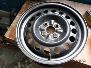 New 16 inch steel  rim 4 bolt pattern