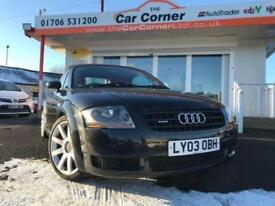 2003 Audi TT Roadster Quattro 2dr Black Used Cars Greater Manchester 1.8