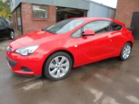 Vauxhall Astra GTC Sport 1.6T. From £125 per month.