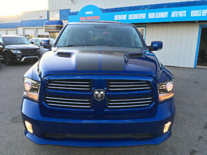 2016 Dodge Ram 1500 SPORT Leather/ Sunroof/Nav/LONG BOX REDUCED!