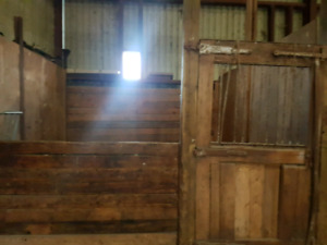 Beautiful farm with big barn  for rent