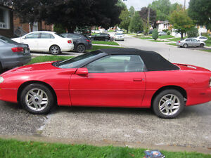 2001 Chevrolet Camaro charcoal leather Convertible