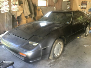 1988 Nissan 300 ZX 2+2 turbo and 1987 for parts $3000