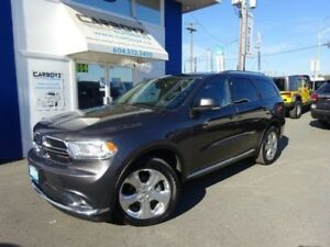 2015 Dodge Durango Limited AWD, Nav, Dual DVD, Sunroof, Leather