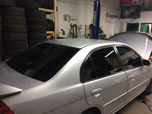 Window tint Starting from $139 and up