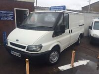 sold !!! ford transit 260 swb only 118000 miles just had new mot £2495