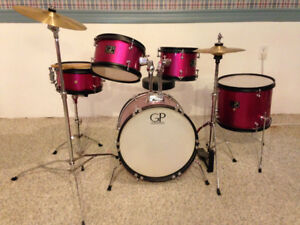 5 Piece Granite Percussion childs drum set