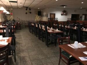 Meubles de salle à manger + comptoir de service + bar