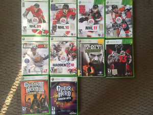 xBox 360 Games (10 Games)