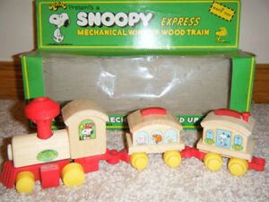 1974 Vintage Snoopy express  train