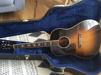 Gibson left hand Advanced Jumbo acoustic guitar