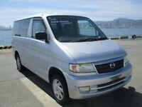 Mazda Bongo Friendee, 2003, low mileage, Silver, 36 month dealer warranty
