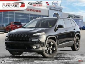 2017 Jeep Cherokee Limited  LEATHER | REAR CAM | HTD SEATS | REM