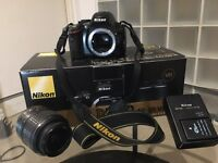 Nikon D5100 DSLR with extra battery