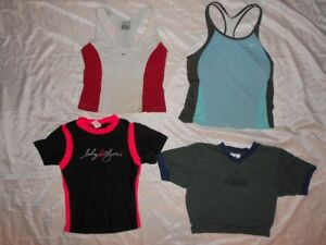 nike, body glove workout tops