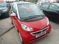 Smart Car Fortwo Coupe PASSION CDI (red/silver) 2011