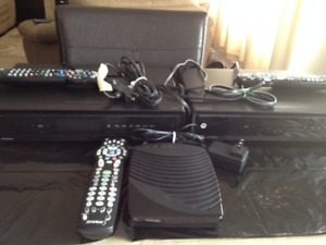 2 HDMI Compatible PVRs (Shaw) + 1 Cable Box (with all Remotes)