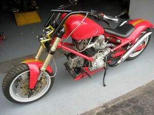 2005 DUCATI CHOPPER  CUSTOM BUILT