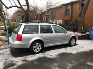 Volkswagen Jetta Wagon ** Cuir ** 2004
