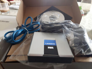 Linksys Cisco phone adapter with router