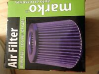 Car air filter induction kit kn