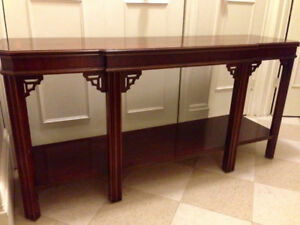 Beautiful ,Top Quality ,Solid Mahogany ,Chinoiserie Style Hall /