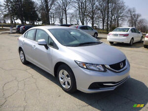 2013 Honda Civic Sedan lease take-over