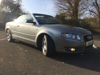 Audi A4 cabriolet 2.0 tdi 2006 private plate new shape 111000 miles f.s.h new mot 3495