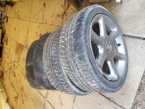 Tires & Rims 215/45R17 Winter tread