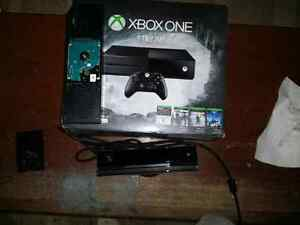 2tb Xbox one with kinect and games