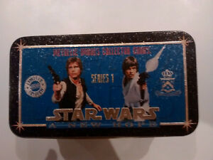 Star Wars A New Hope Metallic Images Collector Cards Tin Set
