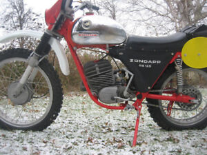 Wanted: Early 1970's Zundapp 125cc GS or MC