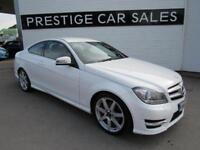 2012 Mercedes-Benz C Class 2.1 C250 CDI AMG Sport 2dr Diesel white Manual