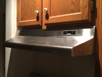 New BROAN Stainless Range Hood