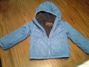 Manteau neuf bleu grandeur 3
